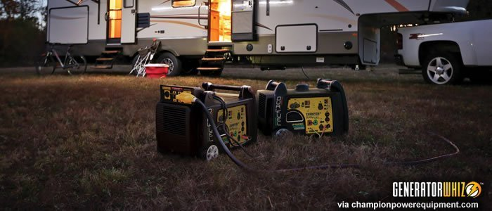recreational vehicles generator