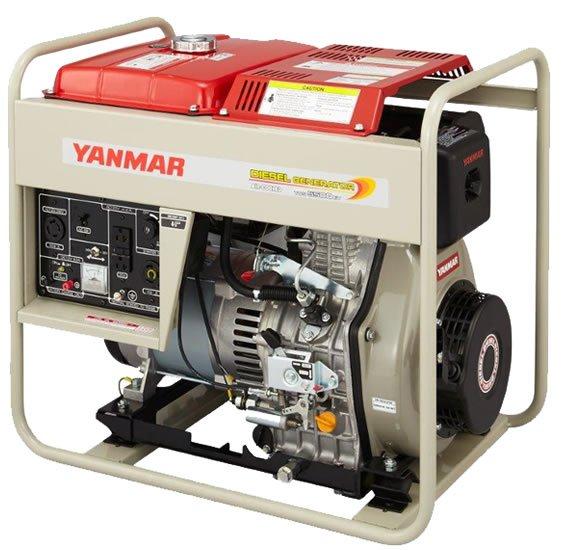 Yanmar YDG5500W Portable Diesel Generator